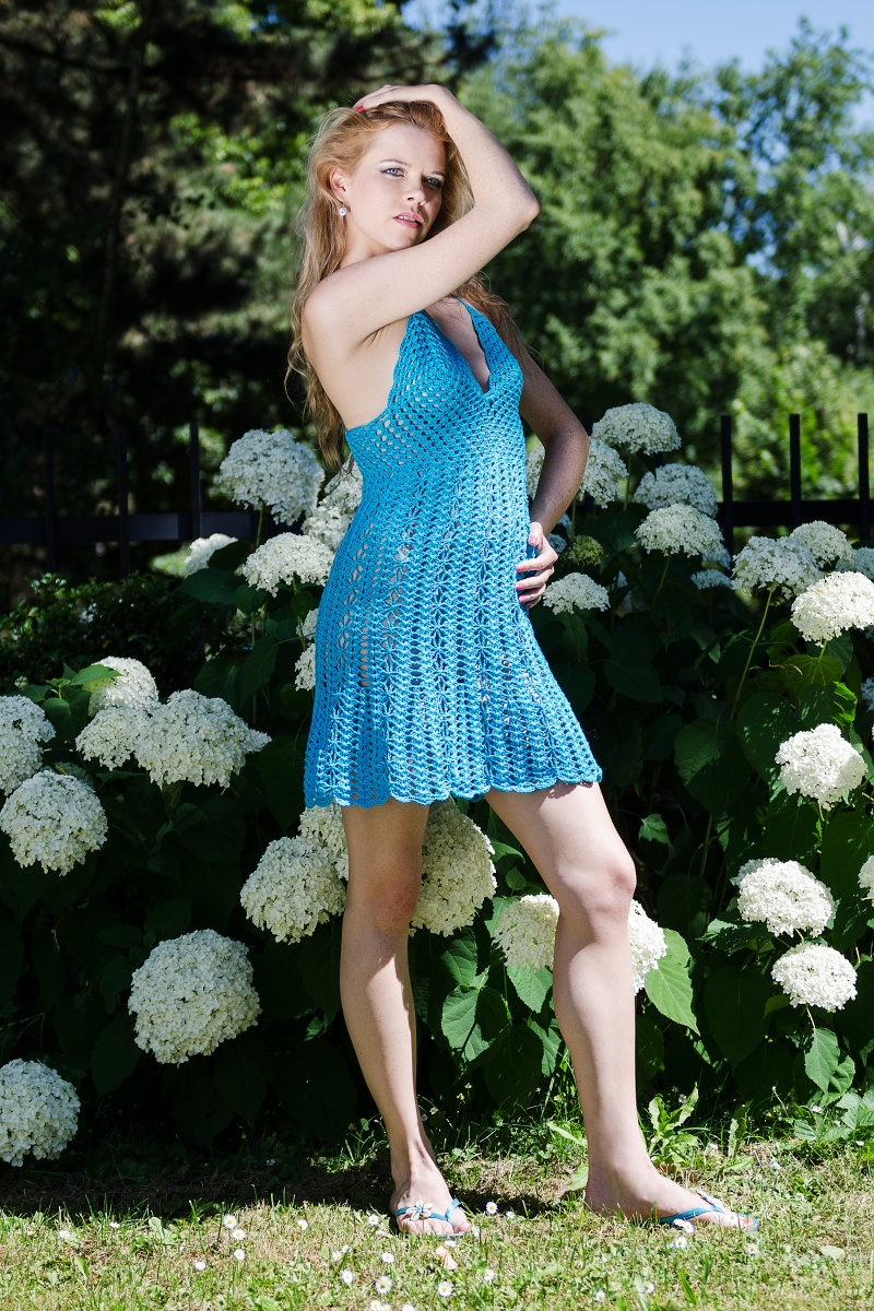 941ef216e8fe Háčkované šaty Gina - 36 38   Zboží prodejce fashionmartina
