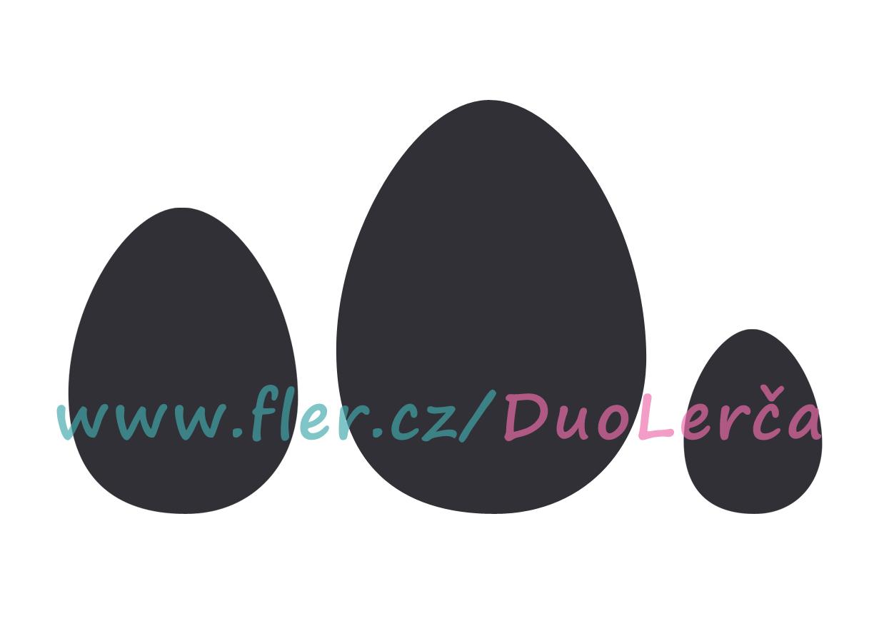 Samolepky vajíčka