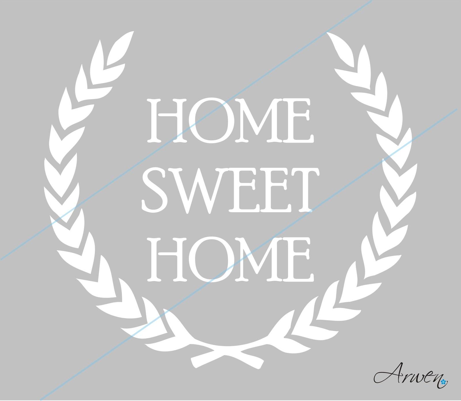 Šablona home sweet home