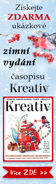Zimní vydání časopisu Kreativ