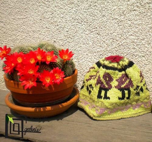 Carpintero rojo (dětská čepice)