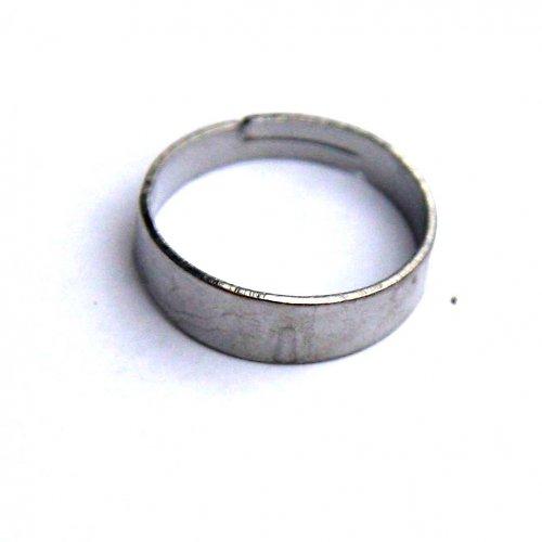 Prstenový Kroužek - 2ks - Platinový