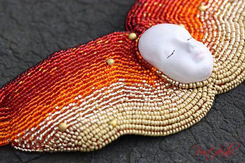 Sluneční dryáda - náhrdelník