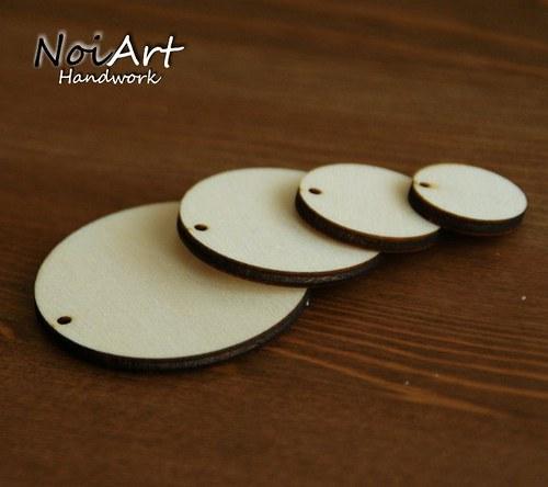 Základ na náušnice kruh 3,5 cm