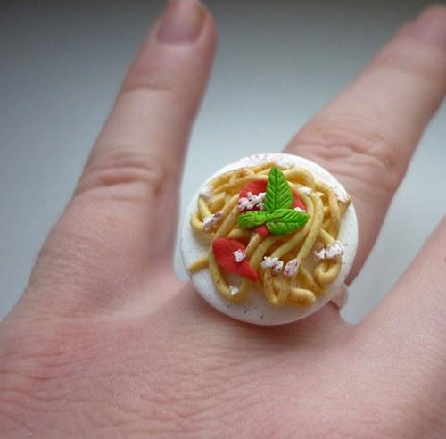 Špagety - prsten (navíc 15% sleva na celý nákup)