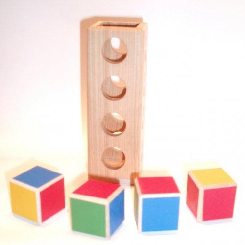 Hlavolam - Čtyři kostky