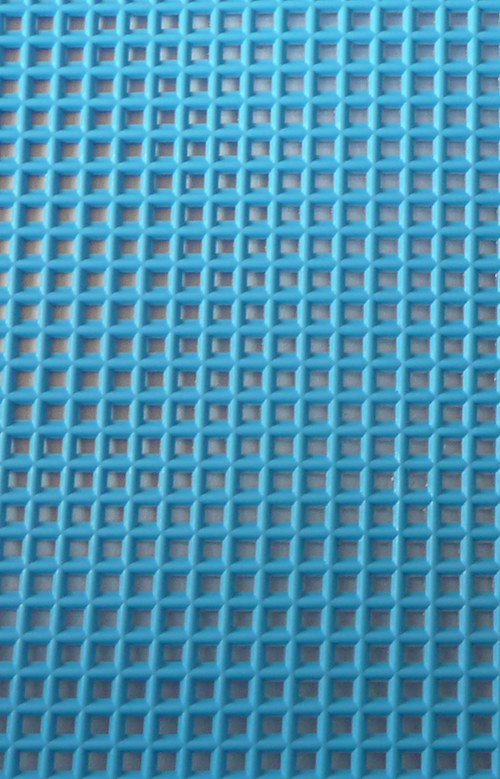Plastová kanava I - modrá neon
