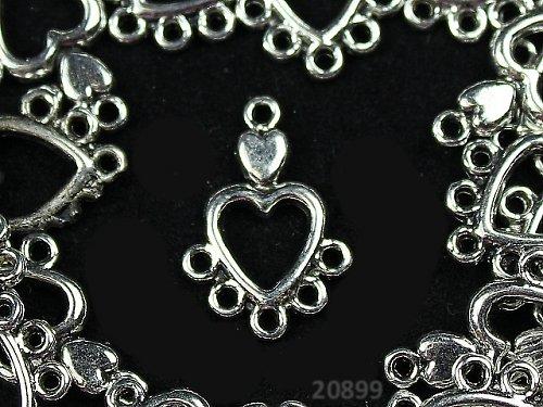 20899 Ramínko tibetské stříbro 13/19,bal.  2ks
