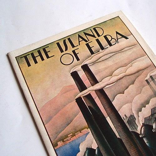 Brožurka pro turisty ve stylu art deco - č. 1282