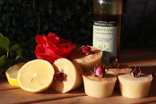 přírodní tuhý šampón -suché a lámavé - BLONDÝNKA -