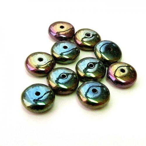 Kovové korálky - disk 8 mm 10 ks