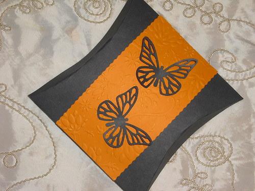 Dárková krabička s motýlky