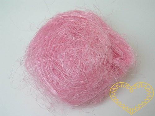 Sisal světle růžový - 100 g