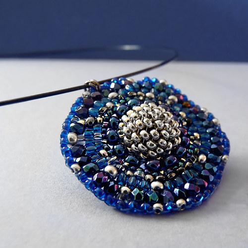 Hvězdná obloha - náhrdelník