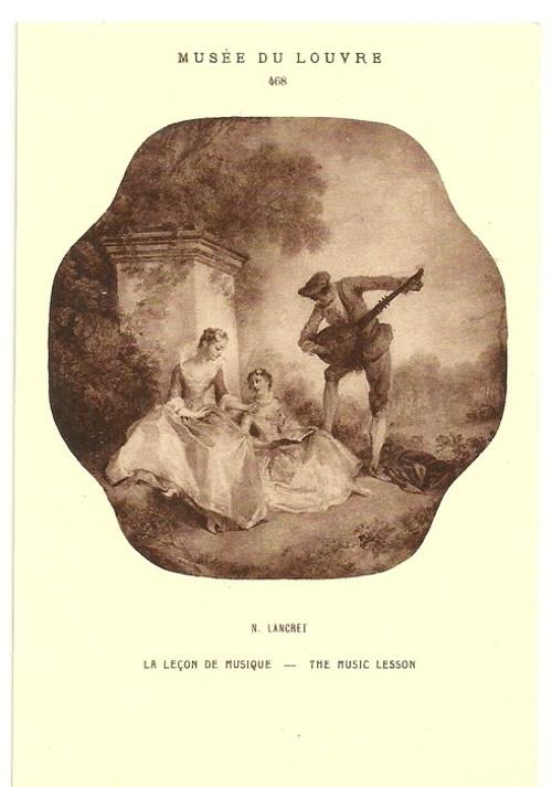 Umělecká pohlednice N.Lancret