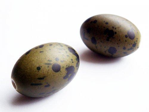 Olivové stříkané oválky ((KOM52))