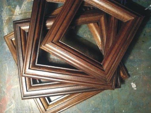 Dřevěné rámečky na obrázky 10x10 cm