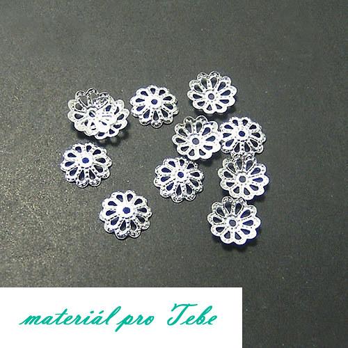 50 ks platinových kaplíků - 6 mm