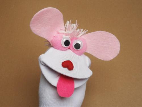Maňásek ponožkáček  č.581