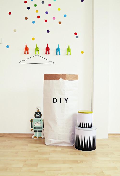 DIY - Papírový pytel XXL