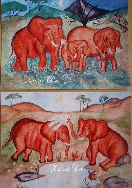 Sloní rodinka:)