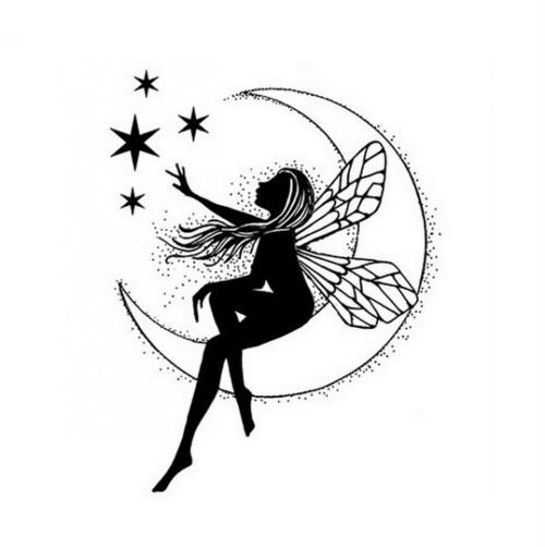 Silikonové razítko Lavinia / Moon Fairy