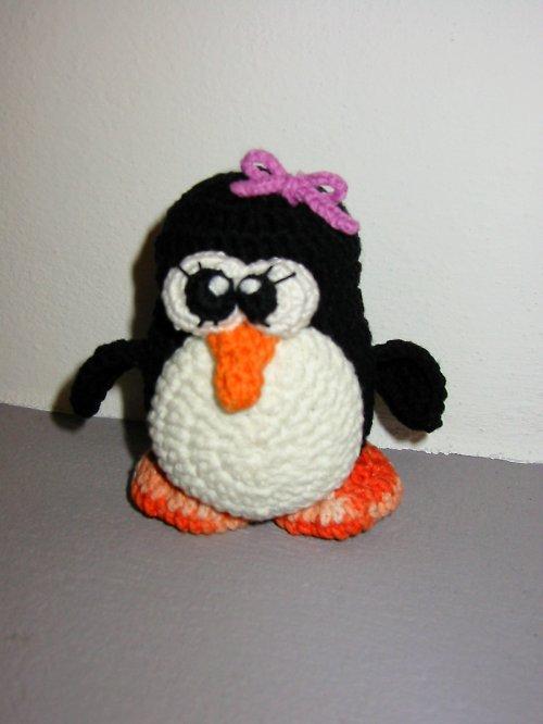 Tučňáčí slečna - popis