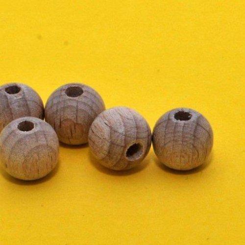 Korálky dřevěné 5 ks / 25 mm
