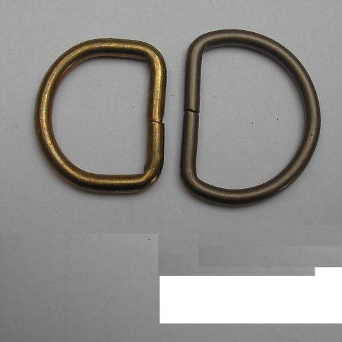 Polokroužek kovový 3 cm mosaz
