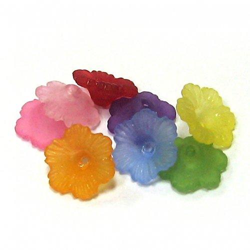 Květinky - mix barev - 5 ks