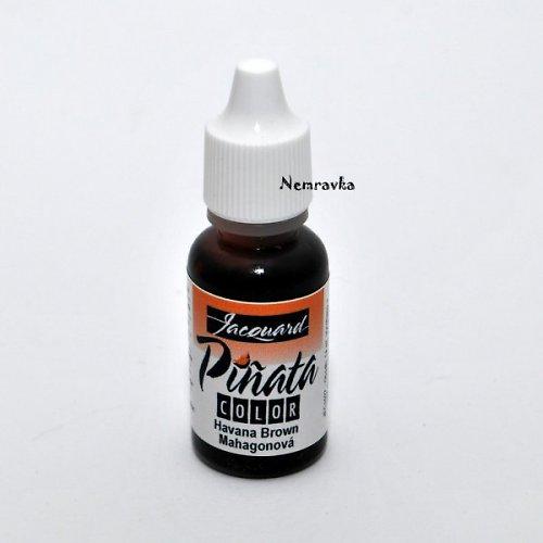 Piňata - alkoholový inkoust / Mahagonový