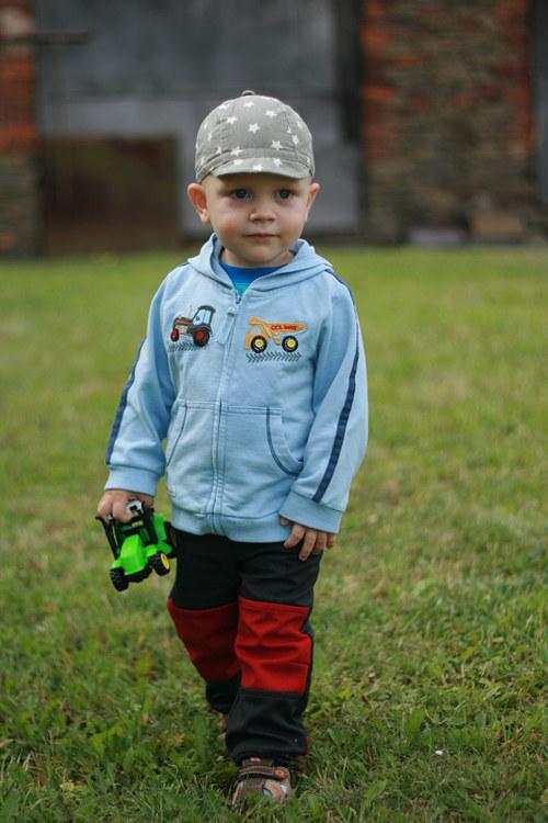 Outdoorové  dětské softshellky