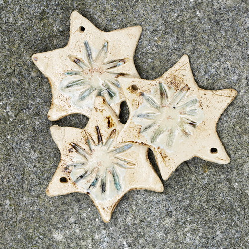 Hvězda -s taveným sklem
