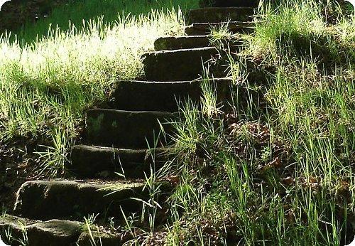 Takový schody do nebe ...