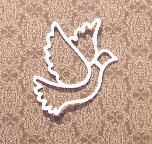 Holubice obrysová (9 cm)
