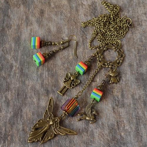 Náhrdelník - Andělská duha