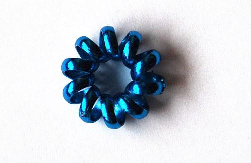 Hrubé kolečko 7x20mm - sv. modré