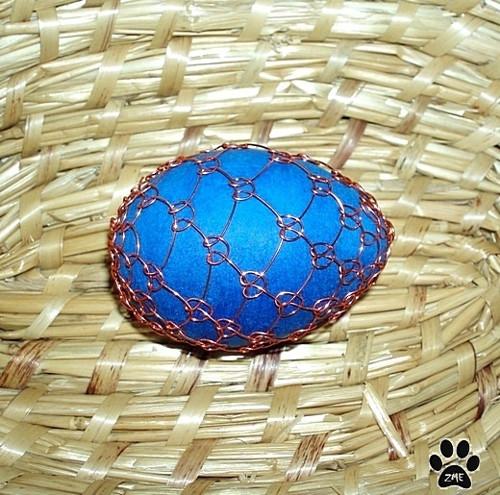 Vajíčko modré I.
