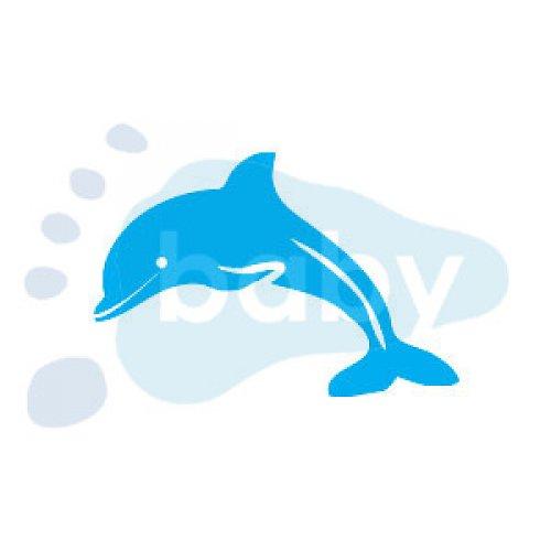 Razítko delfín 7 x 5 cm