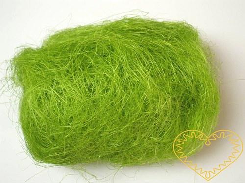 Sisal světle zelený - 100 g