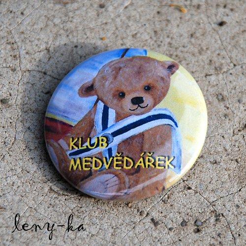 Placky pro klub Medvědářek