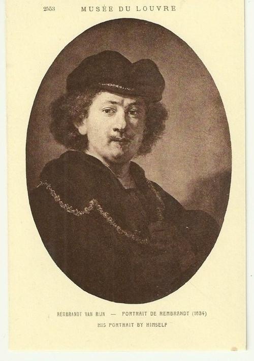Umělecká pohlednice Rembrandt Van Rijn