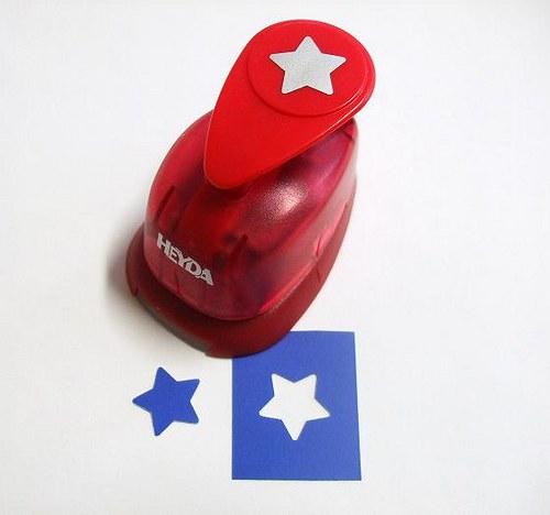 Okrasná děrovačka Hvězda