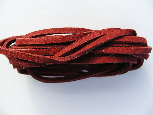 Imitace kůže, vínová 3 mm