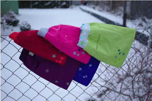 Softshellová sukně / sukénka - fialová