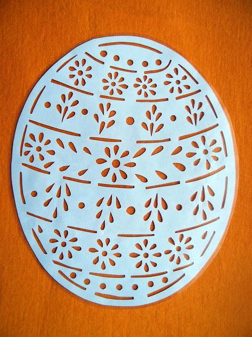Velikonoční vystřihovánka - Kraslice