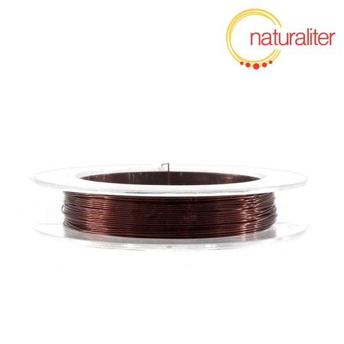 Lakovaný měděný drátek 0,3mm hnědý - cívka 10m