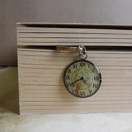 Antik hodinky - záložka mini