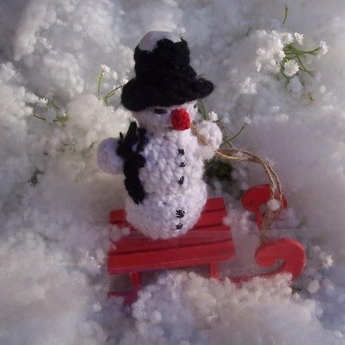 Postavím si sněhuláka