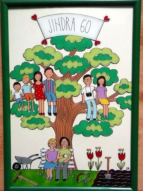Rodinka na stromě č. 2 - rodokmen :-)